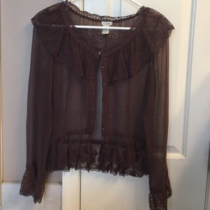 odille Tops - Silk blouse