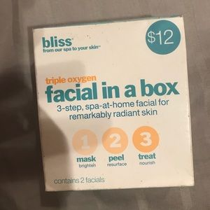 Bliss Other - LAST CHANCE! Bliss Triple Oxygen Facial in a Box