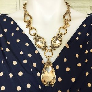 Statement Necklace Earrings Set