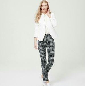 Loft Marissa Tulip Print Pants