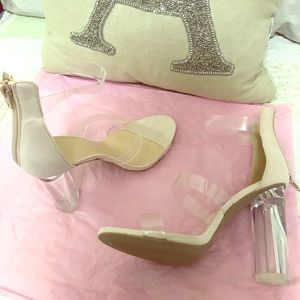 Necessary Clothing Shoes - Nude heels 👠😍
