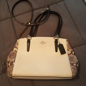 Coach Handbags - Coach pebbled leather shoulder & Handbag NWOT