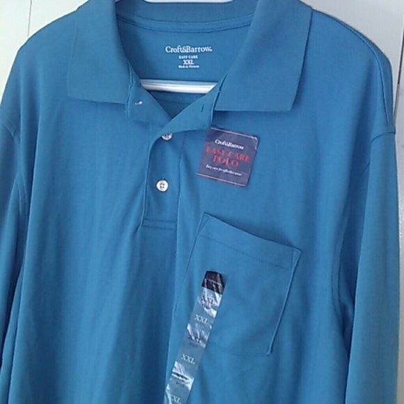 66 off croft barrow other big and tall long sleeve for Croft and barrow womens polo shirts