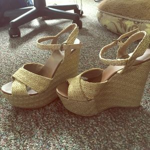 Forever 21 Wedges--perfect for sundresses