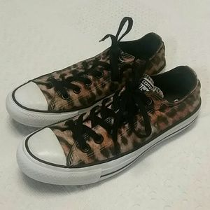 Converse Shoes - Animal print Converse Chuck Taylor all star