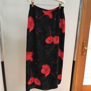 Austin Reed Dresses & Skirts - Austin Reed Black/Floral Skirt