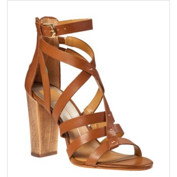 259c505ded3 Dolce Vita Shoes - Dolce vita nolin brown heel sandal