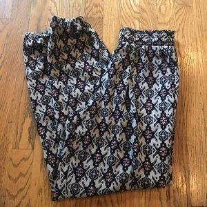 Xhilaration Pants - Tribal print pants. NWOT! size small