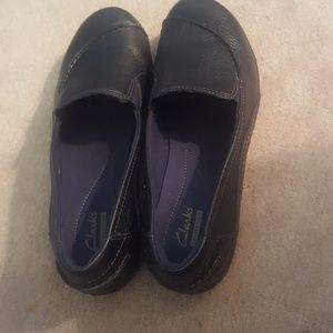 Clarks Shoes - Clarks Leather Shoes Size 10M
