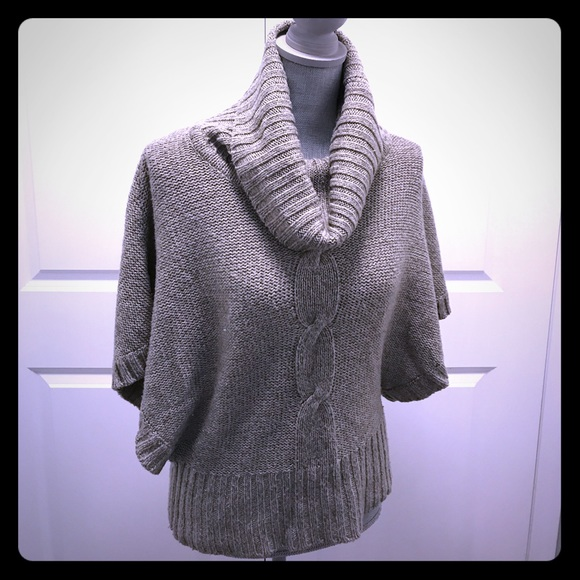 Forever21 Cable Knit Poncho
