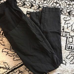 Motherhood Maternity Pants - Maternity black skinny pants medium