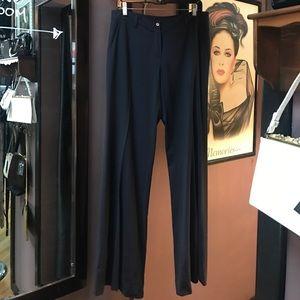 M by Missoni Pants - M Missoni navy wide leg sailor style pants