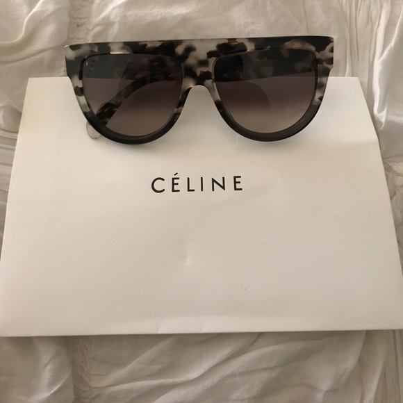 07d3e6ae860f Celine Accessories - Celine 41026 Havana Grey sunglasses