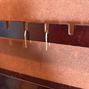 Jewelry - Modern gold earrings
