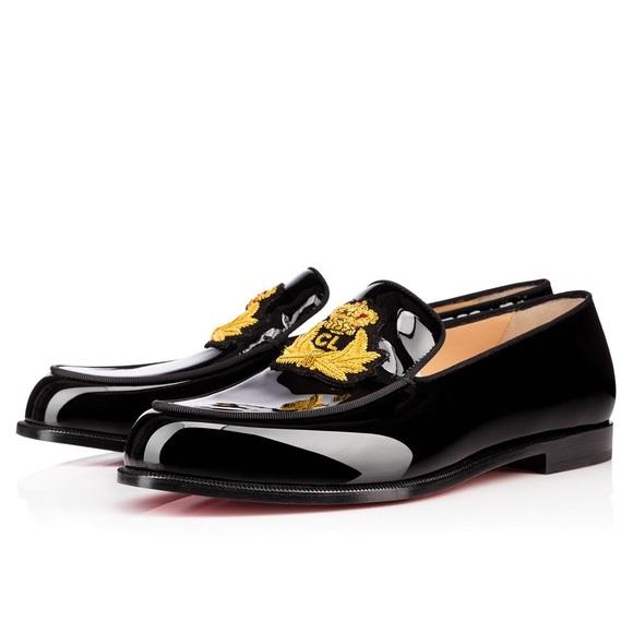 47e58ecd6c56 Christian Louboutin Laperouza Patent Loafers