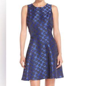 Cynthia Steffe Dresses & Skirts - Cynthia Steffe Leopard Pattern Fit & Flare Dress