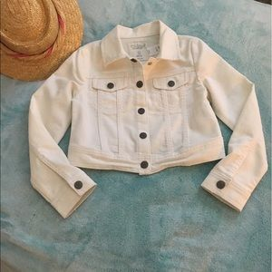 77kids Other - 77 Kids White Jean Jacket. Brand New with tags!