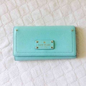 kate spade Handbags - Kate Spade trifold large wallet NWT