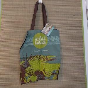 Whole Foods Hawaii Maui Tote Shopping Bag NwT