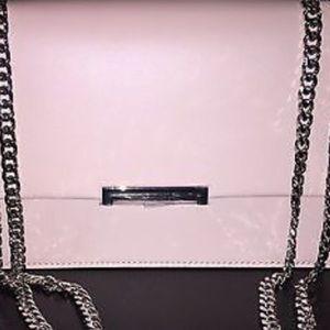 Ivanka Trump Handbags - Ivanka Trump pink RARE Crossbody Bag w Silver Chn