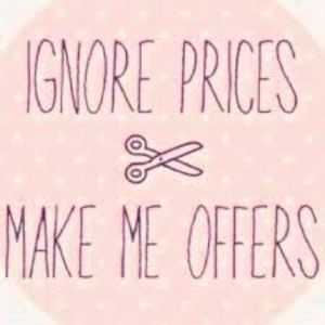 Accepting all reasonable offers!:)