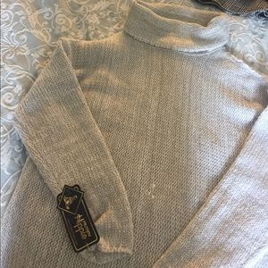 Sweaters - military hippie turtle neck