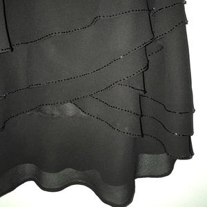 J.B.S. Ltd. Women Petite Dresses & Skirts - Elegant Black J.B.S. Ltd. Skirt