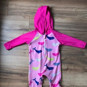 466c6631d8d8b Coolibar Swim | Baby Hooded One Piece Suit 36m Spf 50 | Poshmark