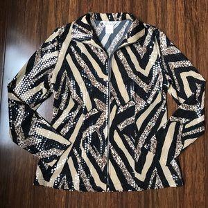 Misook Jackets & Blazers - Exclusively Misook Leopard Print Jacket
