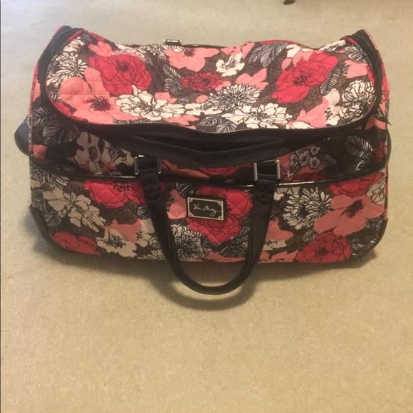 ... poshmark com Vera Bradley Rolling Bags vera bradley purple punch  rolling suitcase 2dd42df8c2
