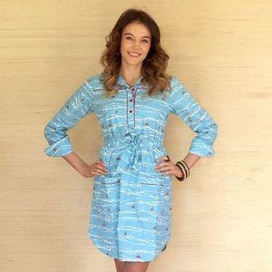 Kayce Hughes Dresses & Skirts - Kayce Hughes Sailboat Dress.