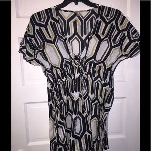 SALE Echo large beach print coverup