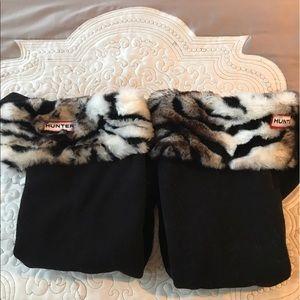 Hunter Boots Other - Hunter fleece socks for rain boots