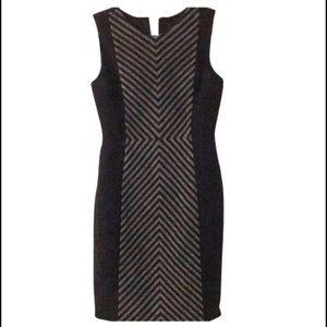 J. Crew Dresses & Skirts - LIKE NEW🌟JCrew Wool Chevron Grey/Black Dress - 00