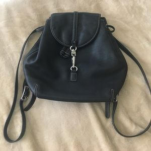 Coach Handbags - Authentic Leather Coach Small Backpack