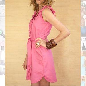 Kayce Hughes Dresses & Skirts - Kayce Hughes Ruffled Dress.