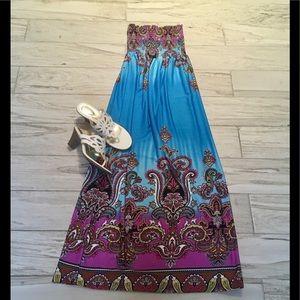 Boutique Dresses & Skirts - 🌈Fabulous🌺💐🌸Maxi Dress!!❤️Like New!!🌈