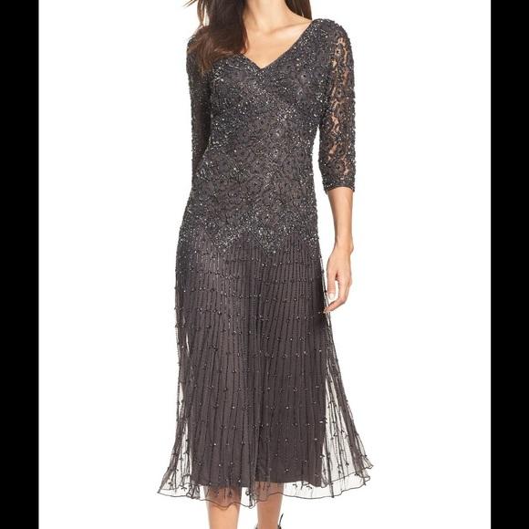 Pisarro Nights Dresses | Beaded Gown | Poshmark