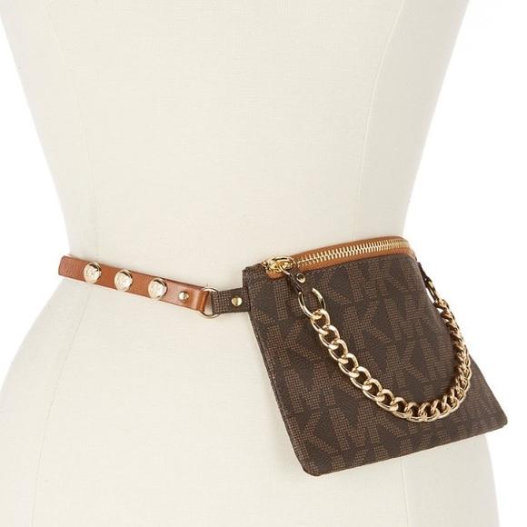 89e25bd22ffd Michael Kors Bags   Belt Bag With Pull Chain   Poshmark