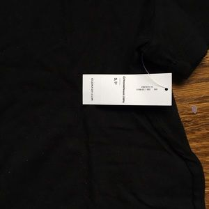 Old Navy Tops - Old Navy short sleeve black cotton tee NWT