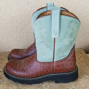 Ariat Shoes - Ariat Fatbaby Boots Size 9