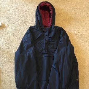 navy blue vintage jacket