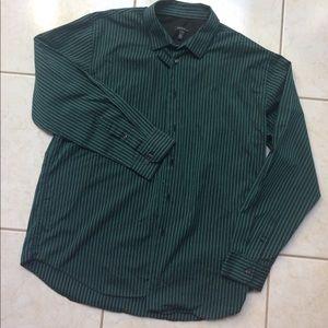 Van Heusen Other - Green Van Heusen XL (17-17 1/2) button down shirt
