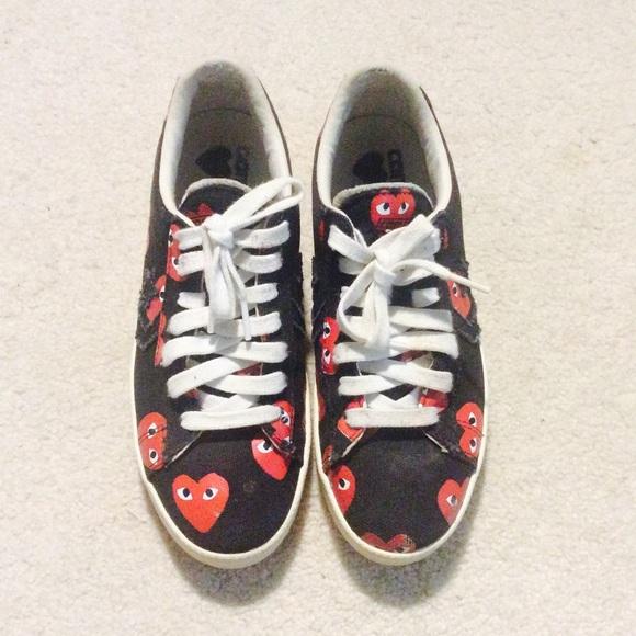 0ca5c48219fcfd Comme des Garcons Shoes - Converse Comme des Garcons pro black low 6M  7.5W