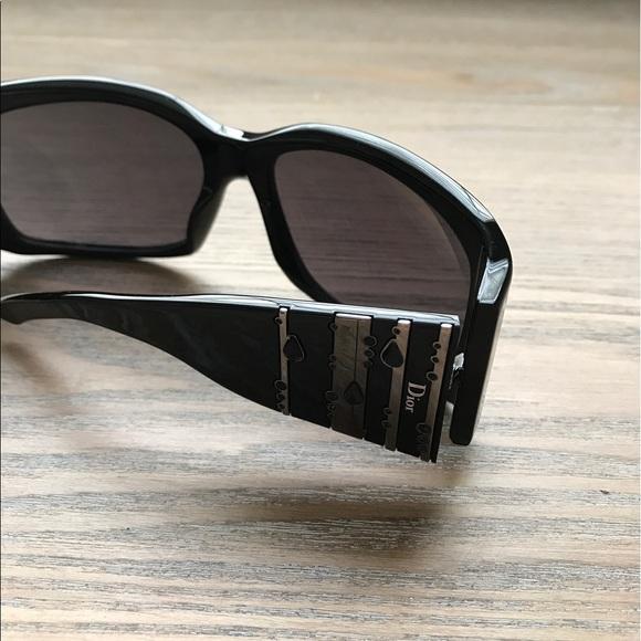 42dc92b6d83 Christian Dior Accessories - Dior Rain 1 Sunglasses in Black   Silver