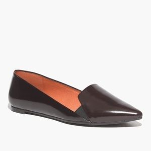 Madewell Leather Black Loafers Flat Anouck