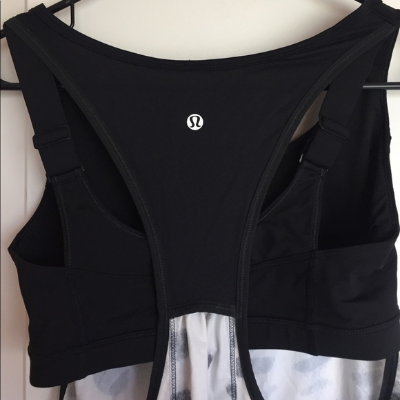 62 off lululemon athletica tops lulu lemon tank with for Shirts with built in sports bra