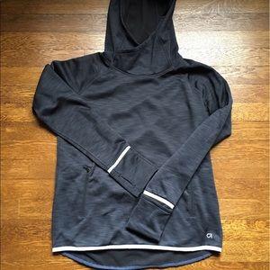 GapFit Pullover Hoodie Dark Gray