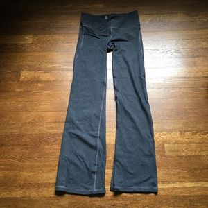 Gap Gflex heathered gray workout pants