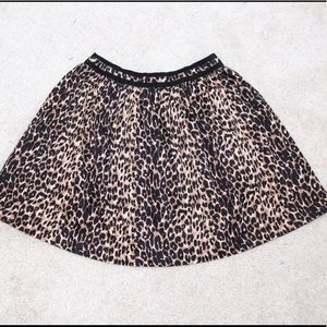 Lucca Couture Dresses & Skirts - Lucca Couture leopard mini skirt sz S